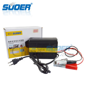 Suoer Digital Display Battery Charger 6V 12V Car Battery Charger (SON-10A+) pictures & photos
