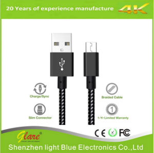Micro USB Data Cable for Mobile Phone pictures & photos