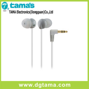 3.5mm White Plug in-Ear Stereo Earphone with 1.2m Cable pictures & photos