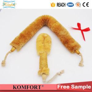 Natural Sisal Mini Wooden Dry Skin Nylon Bodar Bristle Japanese Body Brush pictures & photos