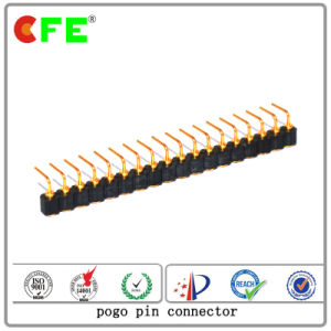 Right Angle Copper Spring Contact Pin Connector for Electronic pictures & photos