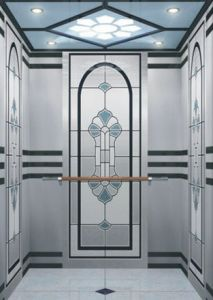 Hot Sale 1.0m/S Passenger Elevator Home Lift Without Machine Room pictures & photos