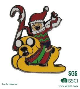 Christmas Day Gift Custom Metal Enamel Pin Badge pictures & photos