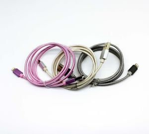 Factory Low Price Pink Cable USB Data Cable USB Charger pictures & photos