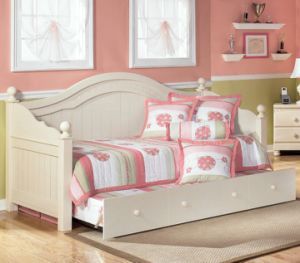 Baby Furntiure Children Furniture Daybed with Trundle Baby Bed pictures & photos