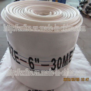100mm Rubber Mixed PVC Lining Water Delivery Hose pictures & photos
