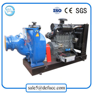 Self Priming Centrifugal Sewage Pump with Diesel Engine Sets pictures & photos