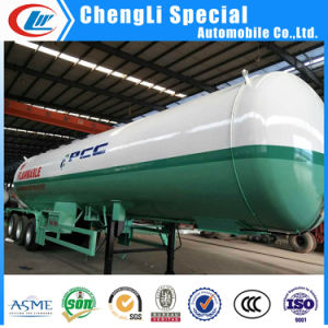 3 Axles 40.5cbm LPG Cooking Gas Tank Semi Trailers 20tons for Low Price pictures & photos