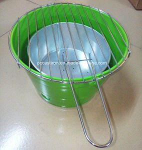 Colorful Table Top BBQ Grills / Bucket BBQ Grills Manufacturer pictures & photos