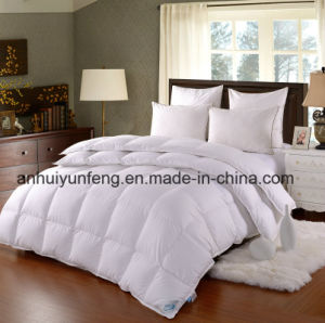 Box Sew Through 100%Goose Down White Comforter pictures & photos
