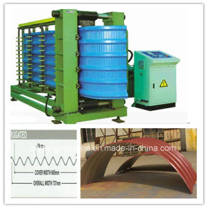 Grain Bin Storage Steel Silo Roll Forming Machine pictures & photos