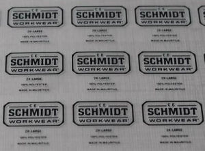 Neck Size Labels Heat Transfer Stickers with Good Quality 2017 pictures & photos