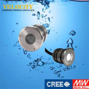 24V 1W/3W Stainless Steel RGB LED Underwater Pool Light