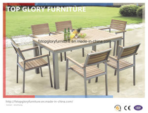 Outdoor Aluminium Frame Polywood Furniture Dining Set (TG-1750) pictures & photos