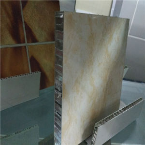 15mm, 20mm, 25mm Thick Honeycomb Partition Wall Panels pictures & photos