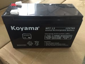 Factory 7ah 12V Lead Acid Storage Battery for Alarm System pictures & photos