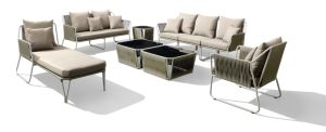 Popular Design Modular Sofa Set for Outdoor Use P-S0254