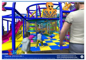 European Standard Indoor Playground with Big Discount pictures & photos