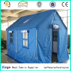 Outdoor Waterproof Anti-UV PVC and PU Coating Tent and Awning Fabric pictures & photos