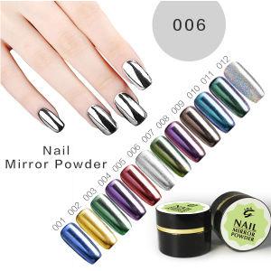 New 2017 Start Metallic Pigment Nail Art Magic Chrome Mirror Powder pictures & photos