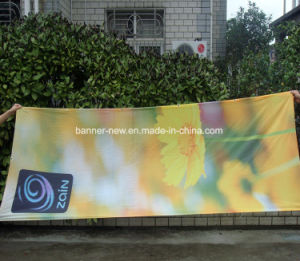 Shiny Full Color Polyester Fabric Banners (SS-SF-86) pictures & photos