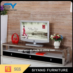 Living Room Furniture LCD TV Cabinet Glass TV Stand pictures & photos