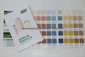 Paper Printing Wall Paint Color Card Book pictures & photos