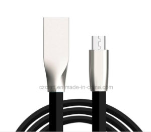 Zinc Alloy Charger&Transfer Data Rhombic Flat Android Cable pictures & photos