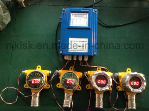 Multi Channels Steel Plants Working Area Toxic Gas Monitor Use Co Gas Detector Control Panel pictures & photos