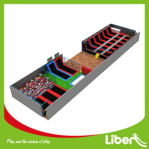 Factory Indoor Trampoline Courts Indoor Trampoline for Body Health pictures & photos