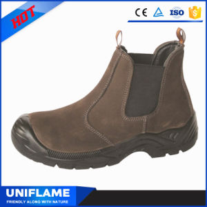 Leather Men Working Safety Shoes Ufa061 pictures & photos