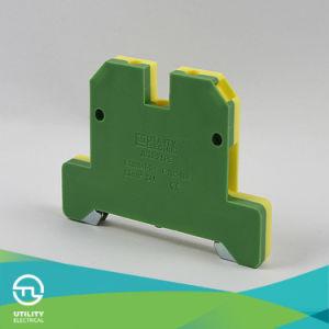 Jut2-2.5PE Earthing Screw Frame DIN Rail Terminal Connector Ek2.5/35 pictures & photos