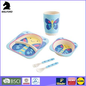 High Quality New Design Bamboo Plates for Kids