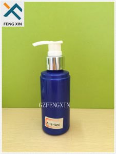 Personal Care Use Make up Water Plastic Container 120ml Pet Plastic Bottle with Lotion Pump pictures & photos