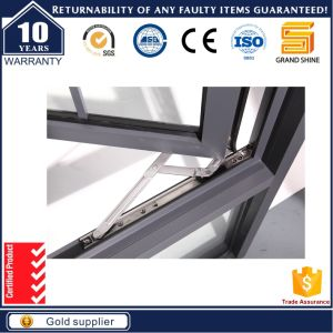 Double Panel Outside Opening Aluminum Casement Window pictures & photos