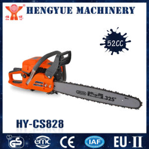 CS828 52cc Chain Saw Gasoline Chainsaw pictures & photos