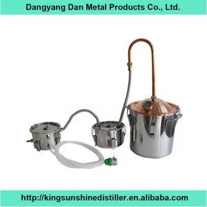 10L/3gal Copper Lid Stainless Distiller Premium Essential Oil Distillation Unit pictures & photos