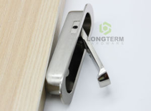 Solid Best Quality Durable Furniture Drop Recessed Handle Concealed Hidden Cabinet Door Handle pictures & photos