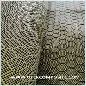 Yellow Carbon Jacquard Fabric for Decoration pictures & photos
