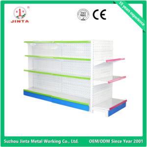 Hot Products in Stock Double Sided Supermarket Rack pictures & photos