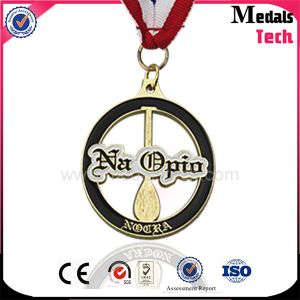 Customized Soft Enamel Gold Metal Medal for Cook Champion pictures & photos