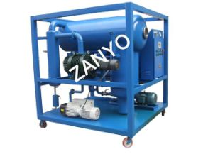 """Double-Stage Vacuum Transformer Oil Purifier Machine Equiped with """"T"""" Type Evaporating Vessel pictures & photos"""