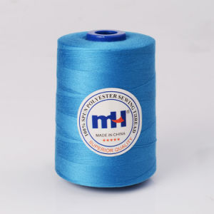 Wholesale of High Quality 100% Polyester Staple Fiber Sewing Thread pictures & photos