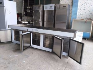 Customized Stainless Steel Work Table Refrigerator pictures & photos