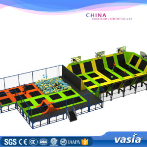 Inflatable Trampoline Jumping Bed Amusement Equipment pictures & photos