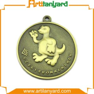 Customized Souvenir Medal with Customer Robbon pictures & photos