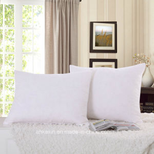 White Color Duck Feather Cotton Pillow pictures & photos