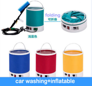 High Pressure Auto Car Air Inflation Washing Wax Sprayer Clear Car Wash pictures & photos