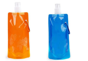 Flexible Collapsible Foldable Reusable Water Bottles Ice Bag Pouch pictures & photos
