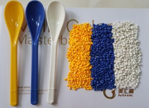 PP, HDPE, LDPE Resins White Color Masterbatch pictures & photos